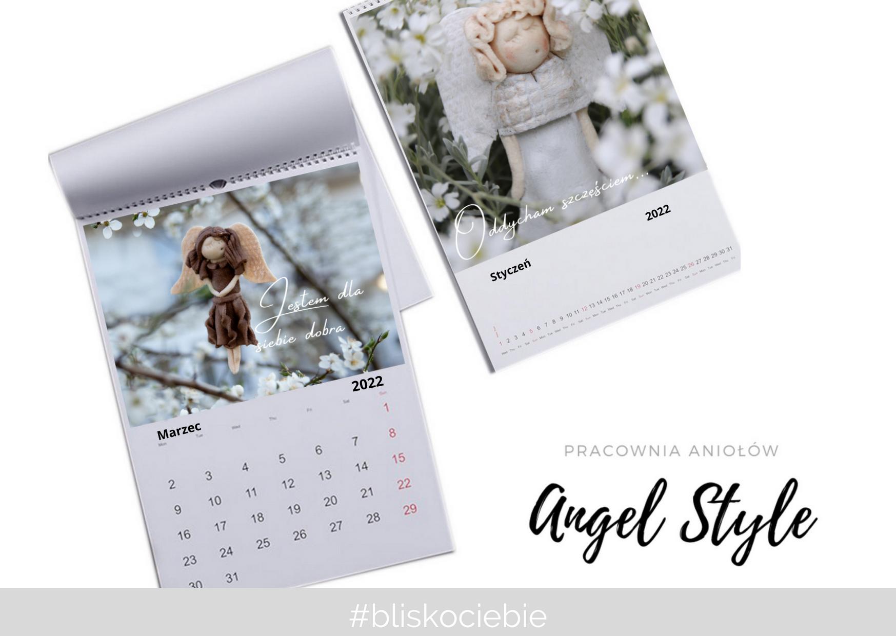 Kalendarz z Aniołami na 2021 r